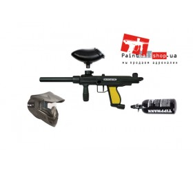Комплект на базе Tippmann FT-12 Rental + маска Valken Mi-3 Thermal Black