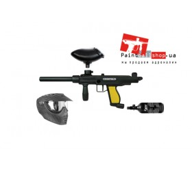Комплект на базе Tippmann FT-12 Rental + маска Extreme Rage X-Ray Single