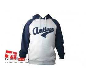 Куртка Anthrax Cotton Hoodie Grey/Blue