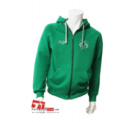 Куртка Anthrax Cotton Zip Hoodie Green