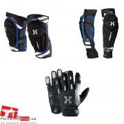 Комплект защиты HKArmy. Колени, локти, перчатки.
