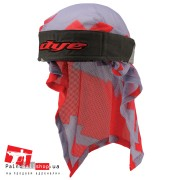 Бандана Dye Head Wrap airstrike grey/red
