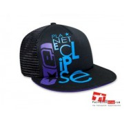 Кепка Eclipse Txt Cap Black/Cyan