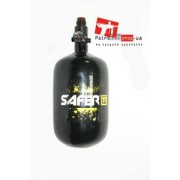 Баллон Safer 1.2L Carbon/Kevlar Blk + регулятор Ninja 45K