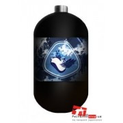 Баллон Stako Paintball 1,1 L (4500 psi/300 BAR) NEW DESIGN Blue