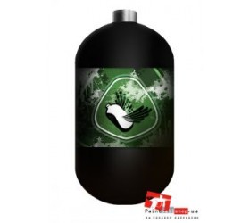 Баллон Stako Paintball 1,1 L (4500 psi/300 BAR) NEW DESIGN Green